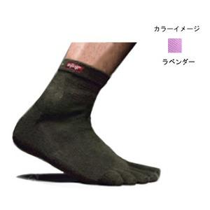 injinji(インジンジ) アウトドア クウォーター M ラベンダー