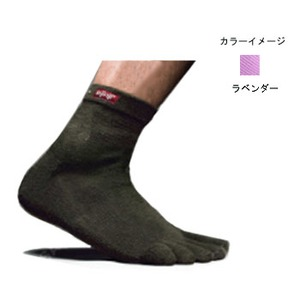 injinji(インジンジ) アウトドア クウォーター L ラベンダー