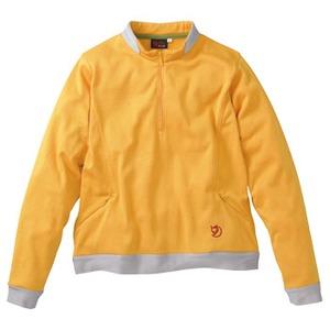 FJALL RAVEN(フェールラーベン) グリッドスキンロングジップレデイース L 35(オレンジ)