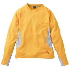 FJALL RAVEN(フェールラーベン) グリッドスキンロングクルーネックレディース S 35(オレンジ)