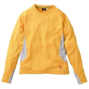 FJALL RAVEN(フェールラーベン) グリッドスキンロングクルーネックレディース L 35(オレンジ)