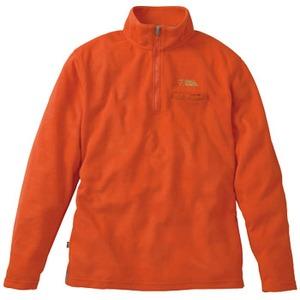 FJALL RAVEN(フェールラーベン) ソナージップアップシャツ M 35(オレンジ)