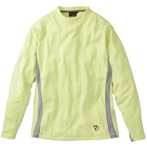 FJALL RAVEN(フェールラーベン) グリッドスキンロングTシャツ L 56(メロン)