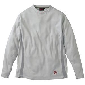 FJALL RAVEN(フェールラーベン) グリッドスキンロングTシャツ L 93(グレー)