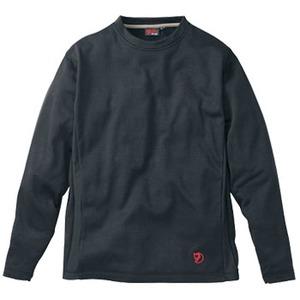 FJALL RAVEN(フェールラーベン) グリッドスキンロングTシャツ L 90(ブラック)