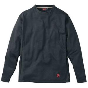 FJALL RAVEN(フェールラーベン) グリッドスキンロングTシャツ M 90(ブラック)