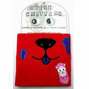 COZEE(コージー) コージークリッターズ ネックラップ フリーサイズ パピーレッド