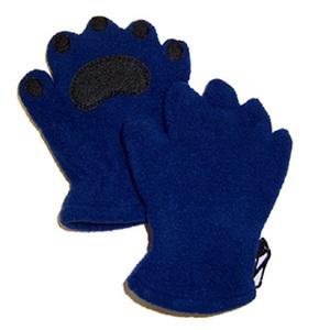 BEARHANDS(ベアーハンズ) ベアハンズ フリースミトン 子供用 ブルー