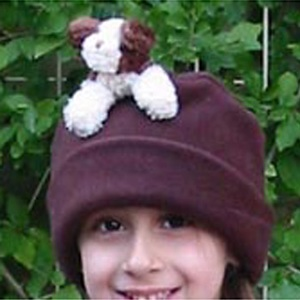 BEARHANDS(ベアーハンズ) ベアハンズ バディ帽子 子供用フリーサイズ ドッグ(ブラウン)