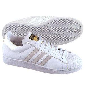 adidas(アディダス) スーパースター 23.5cm ブラック×ランニングホワイト×ゴールドチーム