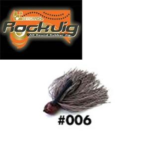 GEECRACK(ジークラック) ロックジグ 1/2oz #006 ブラウン
