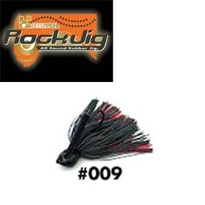 GEECRACK(ジークラック) ロックジグ 1/2oz #009 ブラック×レッド