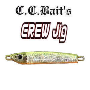 C.C.Baits CREW JIG 30g チャートバック