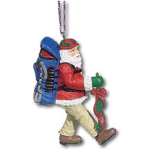 A&F COUNTRY(エイアンドエフカントリー) サンタ コレクション オーナメント ハイキングサンタ