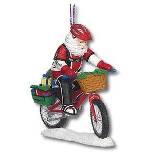 A&F COUNTRY(エイアンドエフカントリー) サンタ コレクション オーナメント マウンテンバイクサンタ