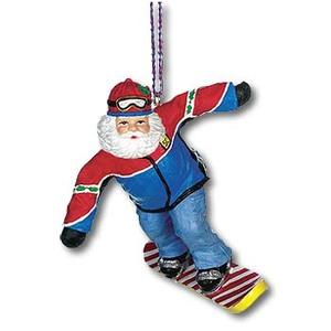 A&F COUNTRY(エイアンドエフカントリー) サンタ コレクション オーナメント スノーボードサンタ