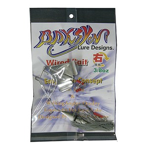 BAKSYN Lure Designs(バクシンルアーデザイン) バクシンバズベイト 右回転 3/8oz #02パール