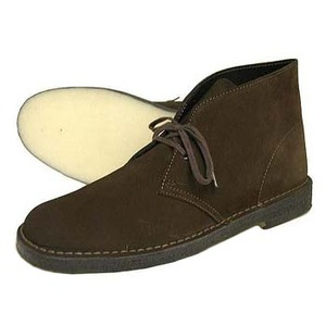 Clarks(クラークス) DESERT BOOT 24.5cm BROWN SUEDE