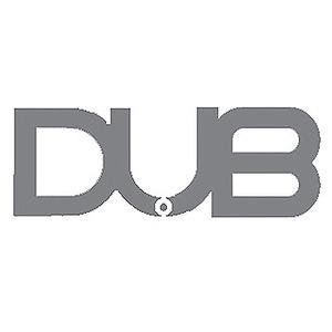 DUB(ダブ) ステッカー L SILVER