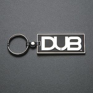 DUB(ダブ) キーホルダー SILVER/BLACK