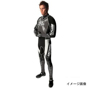 J-FISH JWS-29100 エボリューション ウェットスーツ メンズ L BLACK×CHARCOAL