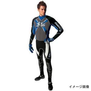 J-FISH JWS-29100 エボリューション ウェットスーツ メンズ M BLACK×BLUE
