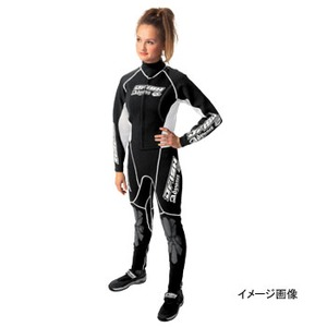 J-FISH JWS-29400 アドバンス ウエットスーツ レディース L BLACK×WHITE