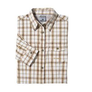 Columbia(コロンビア) ウィメンズシークレストシャツ L 261(Honey)