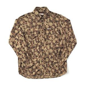 Fox Fire(フォックスファイヤー) サプレックスカモフラージュシャツ M's M 010(カーキ)