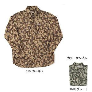 Fox Fire(フォックスファイヤー) サプレックスカモフラージュシャツ M's S 020(グレー)