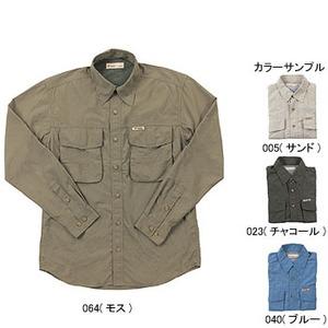 Fox Fire(フォックスファイヤー) パスファインダーUVシャツL/S M's M 005(サンド)