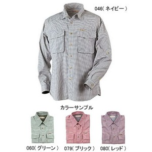 Fox Fire(フォックスファイヤー) パスファインダーチェックシャツL/S M's L 080(レッド)