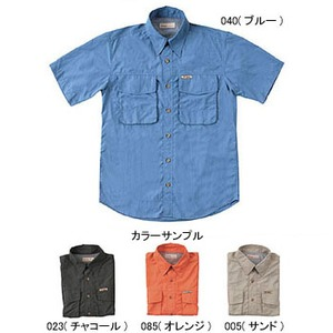 Fox Fire(フォックスファイヤー) パスファインダーUVシャツS/S M's L 085(オレンジ)