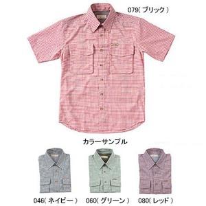 Fox Fire(フォックスファイヤー) パスファインダーチェックシャツS/S M's L 046(ネイビー)