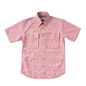 Fox Fire(フォックスファイヤー) パスファインダーチェックシャツS/S M's L 079(ブリック)