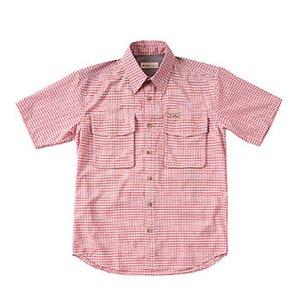 Fox Fire(フォックスファイヤー) パスファインダーチェックシャツS/S M's XL 079(ブリック)