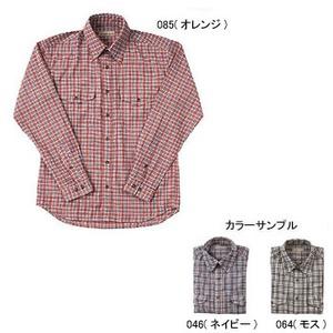 Fox Fire(フォックスファイヤー) QDSサッカーチェックシャツL/S M's L 046(ネイビー)
