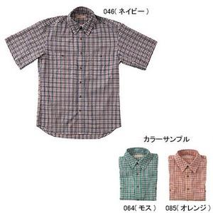 Fox Fire(フォックスファイヤー) QDSサッカーチェックシャツS/S M's M 085(オレンジ)