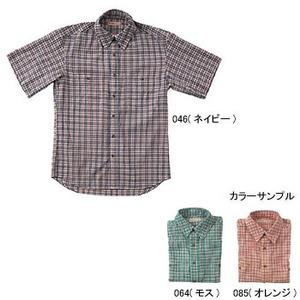 Fox Fire(フォックスファイヤー) QDSサッカーチェックシャツS/S M's XL 085(オレンジ)