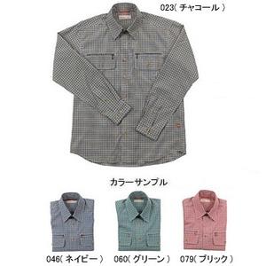 Fox Fire(フォックスファイヤー) スコーロンミニチェックシャツL/S M's L 060(グリーン)
