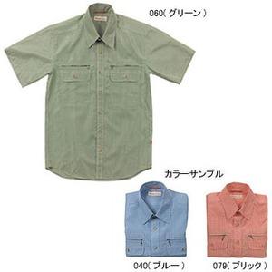 Fox Fire(フォックスファイヤー) スコーロンナローチェックシャツS/S M's M 040(ブルー)