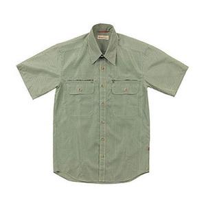 Fox Fire(フォックスファイヤー) スコーロンナローチェックシャツS/S M's L 060(グリーン)