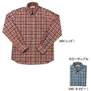 Fox Fire(フォックスファイヤー) QDCブライトチェックシャツL/S M's S 046(ネイビー)