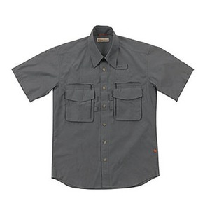 Fox Fire(フォックスファイヤー) スコーロンソリッドシャツS/S M's S 023(チャコール)