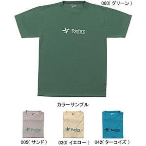 Fox Fire(フォックスファイヤー) トランスウェットDEOロゴTシャツ M's S 030(イエロー)