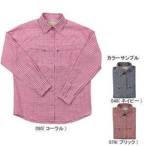 Fox Fire(フォックスファイヤー) スコーロンミニチェックシャツL/S W's L 046(ネイビー)