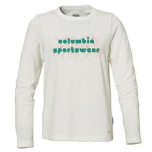 Columbia(コロンビア) ウィメンズ バブルロゴファンTシャツ M 125(Sea Salt)