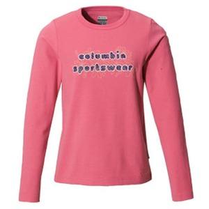 Columbia(コロンビア) ウィメンズ バブルロゴファンTシャツ S 671(Hot Blush)