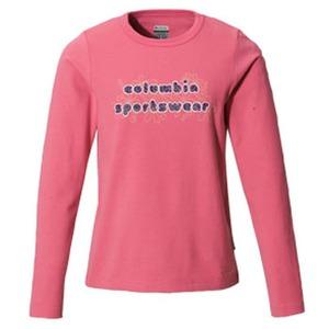 Columbia(コロンビア) ウィメンズ バブルロゴファンTシャツ XL 671(Hot Blush)