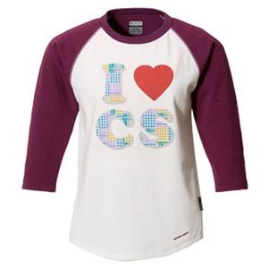 Columbia(コロンビア) ウィメンズ ラビンCSC 3/4Tシャツ L 510(Currant)